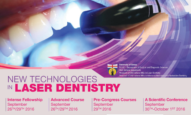 NEW TECHNOLOGIES IN LASER DENTISTRY
